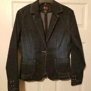 New York & Company NY Jean's jean Jacket size 6